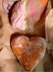 Heart Shaped Jelly Donut by WillM3luvTrains