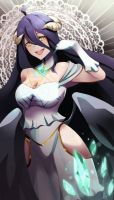 Albedo-sama (Overlord - Comission) by PaintGrilcat