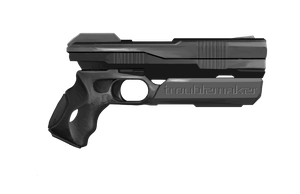 Shadowrun Troublemaker Heavy Pistol by raben-aas