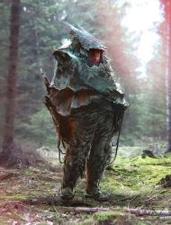 Woodworker with heavy armor by rammmon