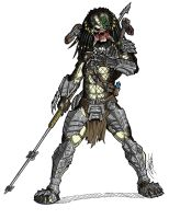COMMISSION - Wolf Predator Unmasked Colors by Ronniesolano