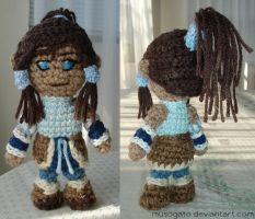 Legend of Korra Amigurumi by musogato