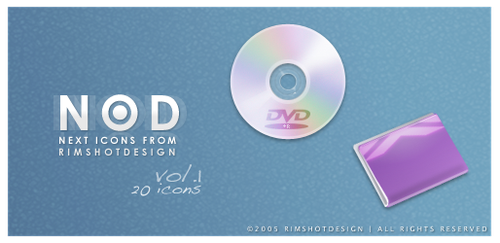NOD vol.1 for MAC OS X by RimshotDesign