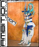 Umi with her sword by Ambition by Mary-cosplay