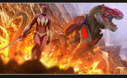 red ranger high res and free....enjoy :) by nebezial
