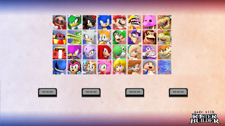 ROSTER BUILDER - Mix and Match Sample 1 by ConnorRentz
