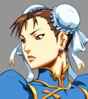 Character Select- Chun-Li by UdonCrew
