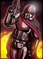 6 of 9 - Captain Phasma by JoeHoganArt