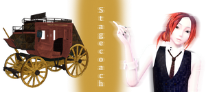 [MMD] Stagecoach DL by JoanAgnes