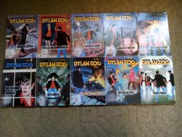 Dylan Dog Comic Collection from 10 to 19 by NecromancerKing85