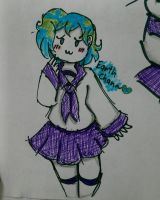 Earth Chan by 5thMeFish0204