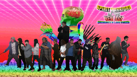 Spirit Warriors of the New Age Complete Roster by nomoreheroes2012