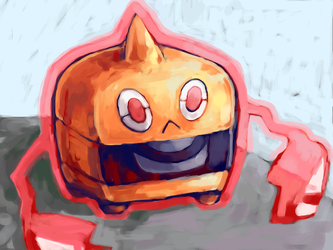 rotom-h by SailorClef