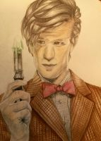 Matt Smith- 11th Doctor by OnceUponATime221B