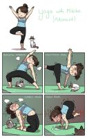 Yoga with Mikiko II by Zombiesmile