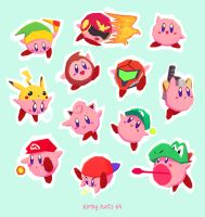 kirby hats 64 by kawoninja