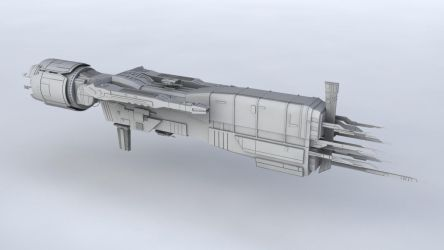 Sulaco spaceship by olve3d