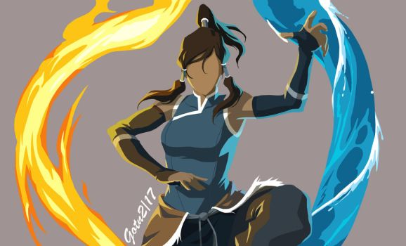 Avatar Korra by GuardianOfTheNight2