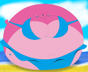Giant Beach Ball Poppet by Rebow19-64
