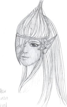 Good Drow Queen by neeses