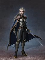 High Elf Noble by SirTiefling
