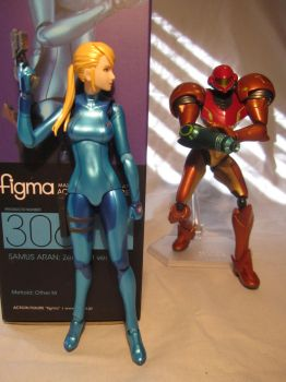 Zero Suit Samus Figma - SA-X Approaches by MetroidDatabase
