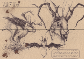 Wolpertinger by Zellgarm