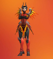 Mercy Devil Outfit (XPS) by dawadd