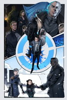 Detroit Become Human Print by AcceCakes