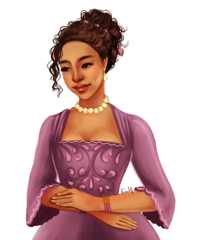 Dido Elizabeth Belle by kimpertinent
