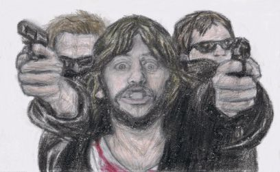 Ringo Starr in the Boondock Saints by gagambo