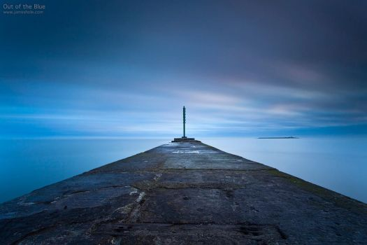 Out of the Blue by jamesholephoto