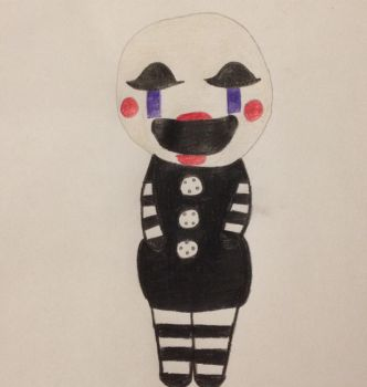 Chibi Marionette by Sweetbitterness15