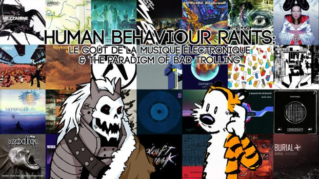 Human Behaviour Electronic Music Title Card by Suessolok