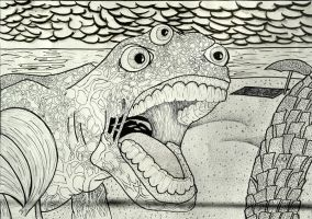Invented Texture. Drawing I by Jesus-Fishboy