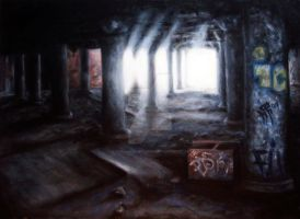 Swiftly In Silence - painted by nathanielwilliam