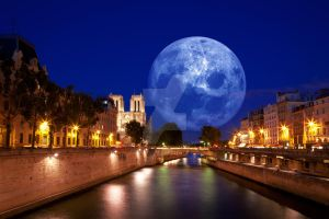 Paris Moon Light - Exclusive Stock by boldfrontiers