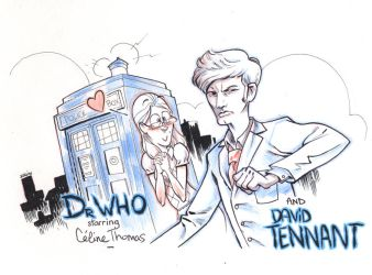 Celine and the Dr Who by joslin
