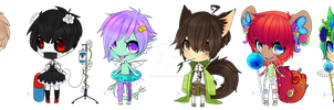 Simple Adopts - 250points Each #6 CLOSED by x-Cute-Kitty-x
