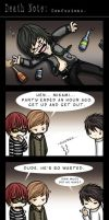 Death Note: Confusions by SilentReaper