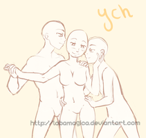 ych -they are three (CLOSED) by LobaMagica