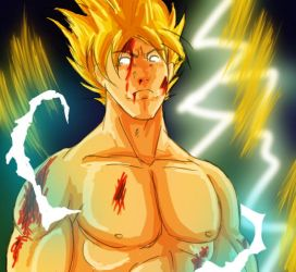 super goku by brocken-jr
