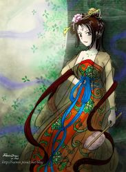 Tang Dynasty lady on ipad2 by rainrei
