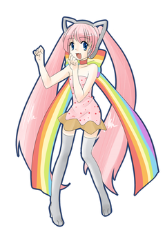 Nyan Cat by Lazy-Legend