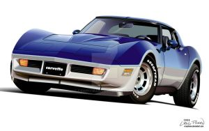 1982 Chevrolet Corvette by CRWPitman