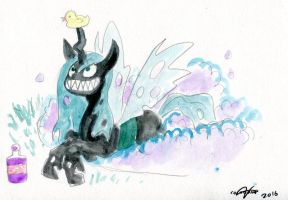 Chrysalis Commission by Colourbee by EwoudCPonies