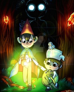 Over The Garden Wall by andreahedgehog