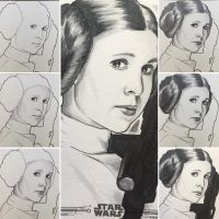 Leia 3 WIPs by BikerScout
