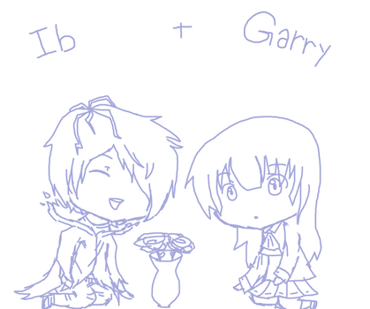 Ib+Garry by coifonii