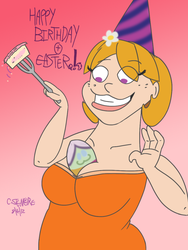 Easter Birthday by QwertyChris